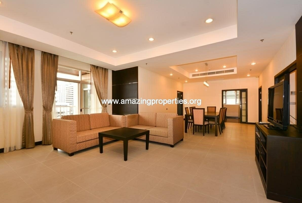 3 bedroom apartment in Asoke Residence grand mercure