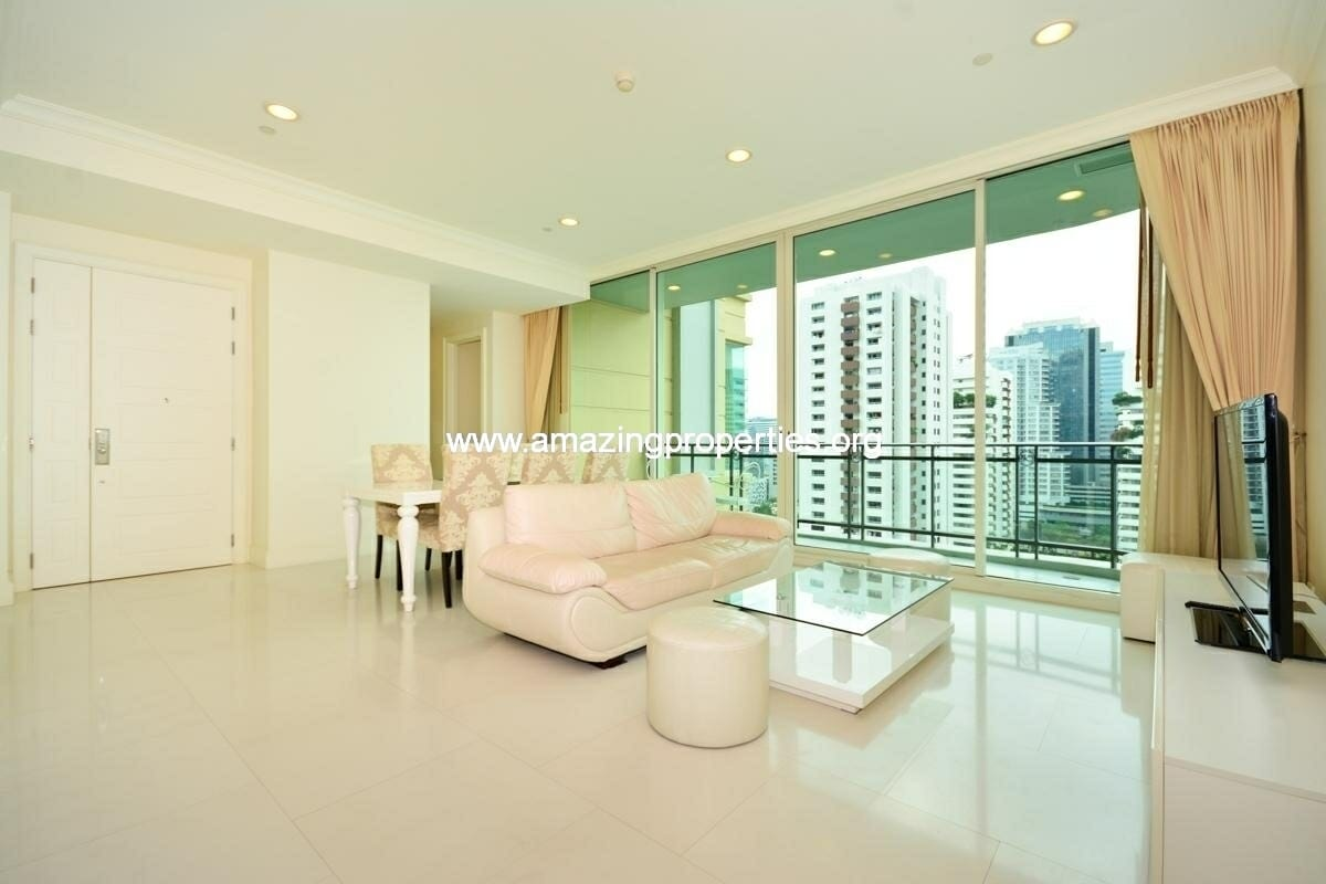 Phrom Phong 3 bedroom condo for rent in Roycs Private Residence