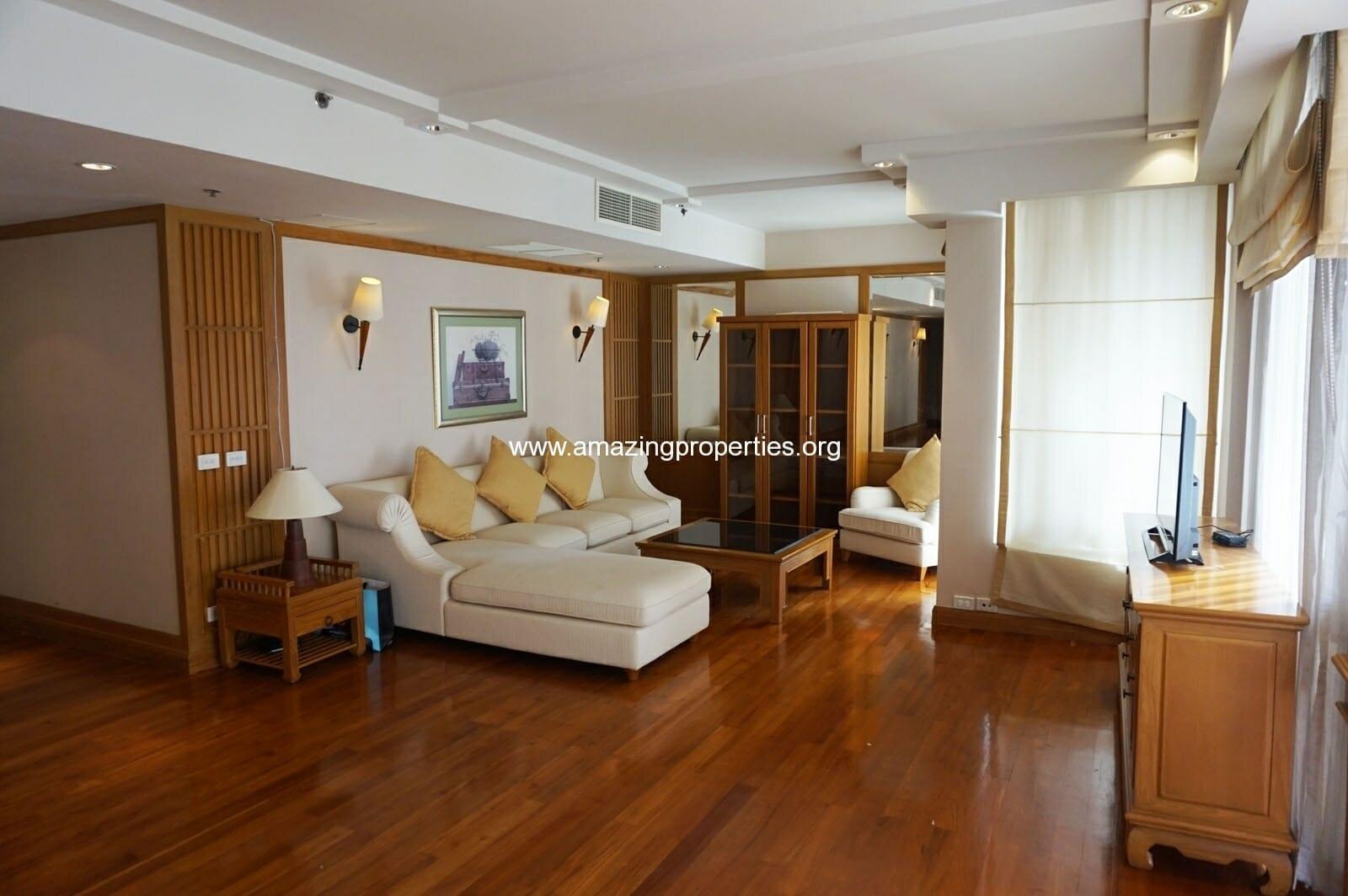 2 bedroom condo Langsuan Ville-3