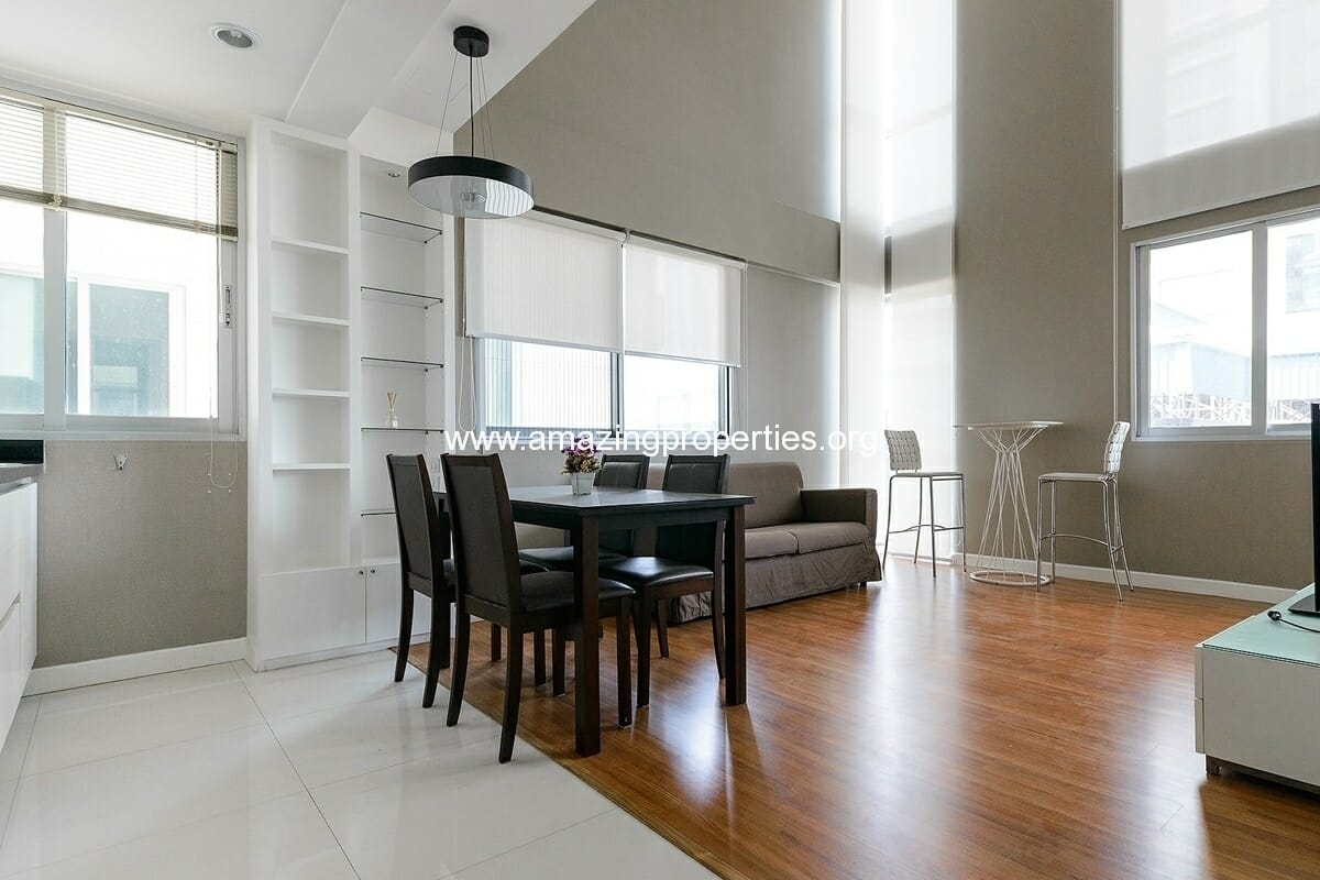Duplex 1 bedroom condo in The Rajdamri
