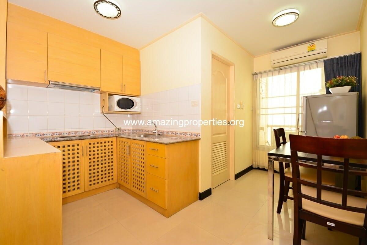 1 bedroom Charming Resident Asoke-3