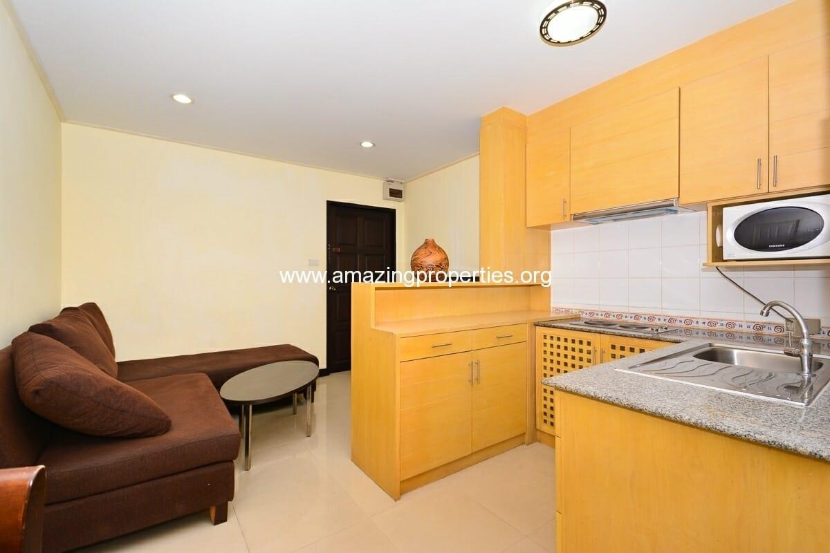 1 bedroom Charming Resident Asoke-4