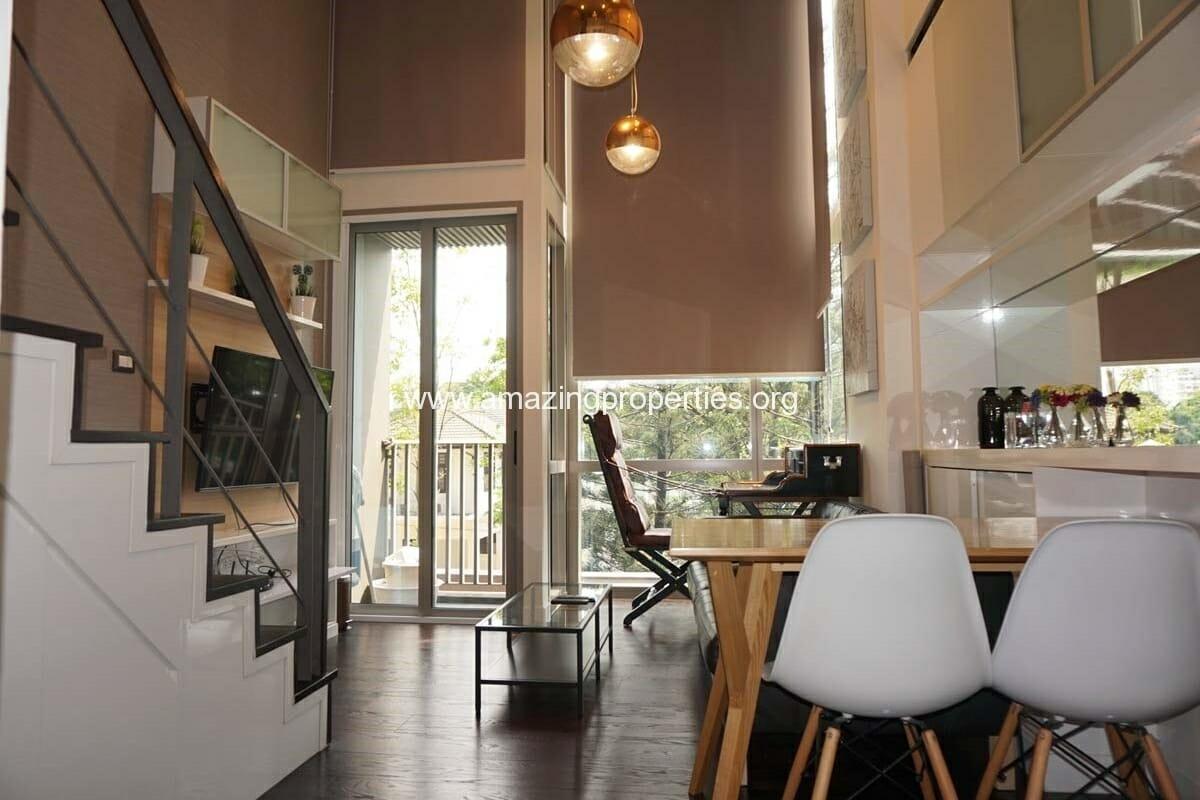 1 bedroom duplex condo at ideo morph amazing properties for Duplex bed