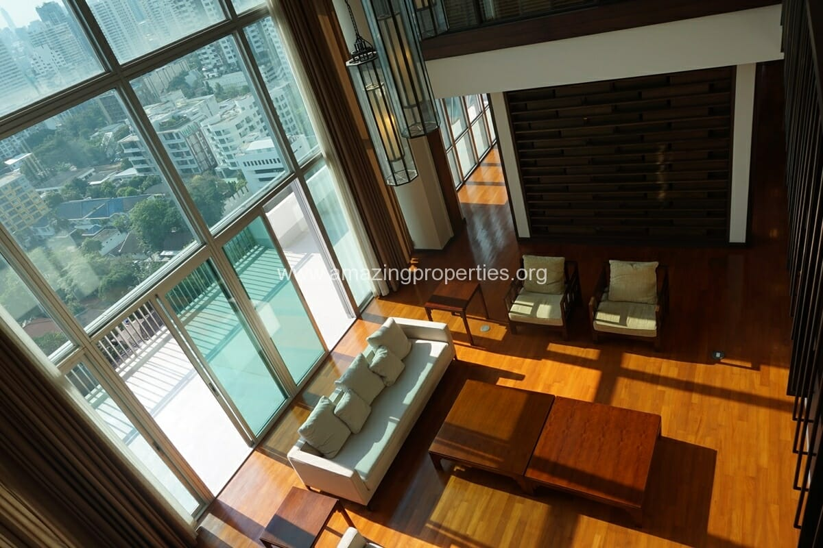 Penthouse for Rent at Vasu the Residence Thonglor