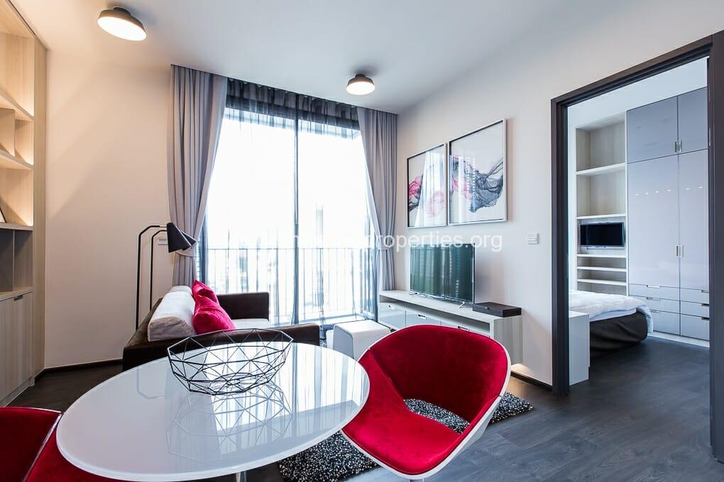 Edge Sukhumvit 23 Asoke 1 bedroom condo for rent (3)