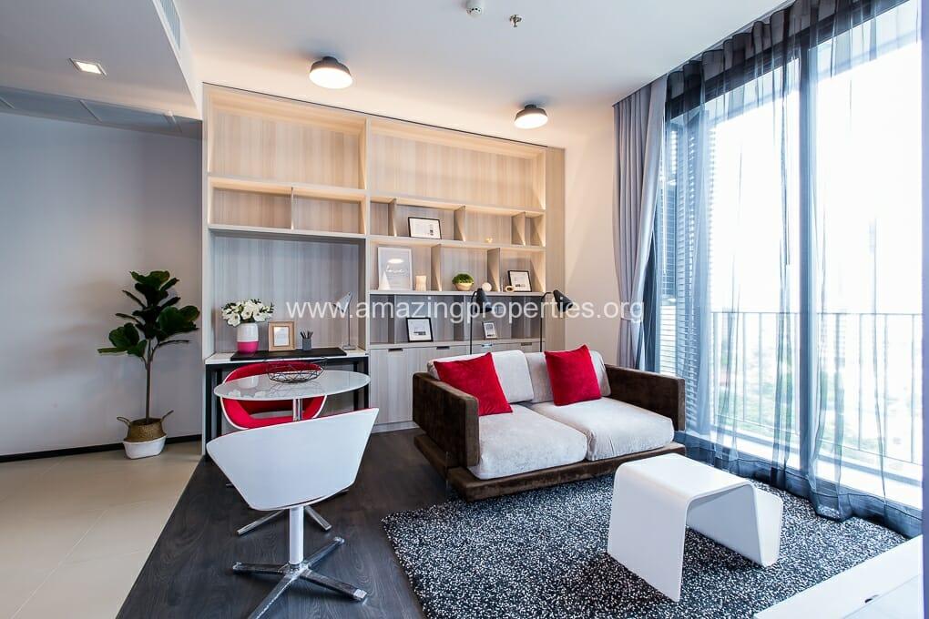 Edge Sukhumvit 23 Asoke 1 bedroom condo for rent (4)