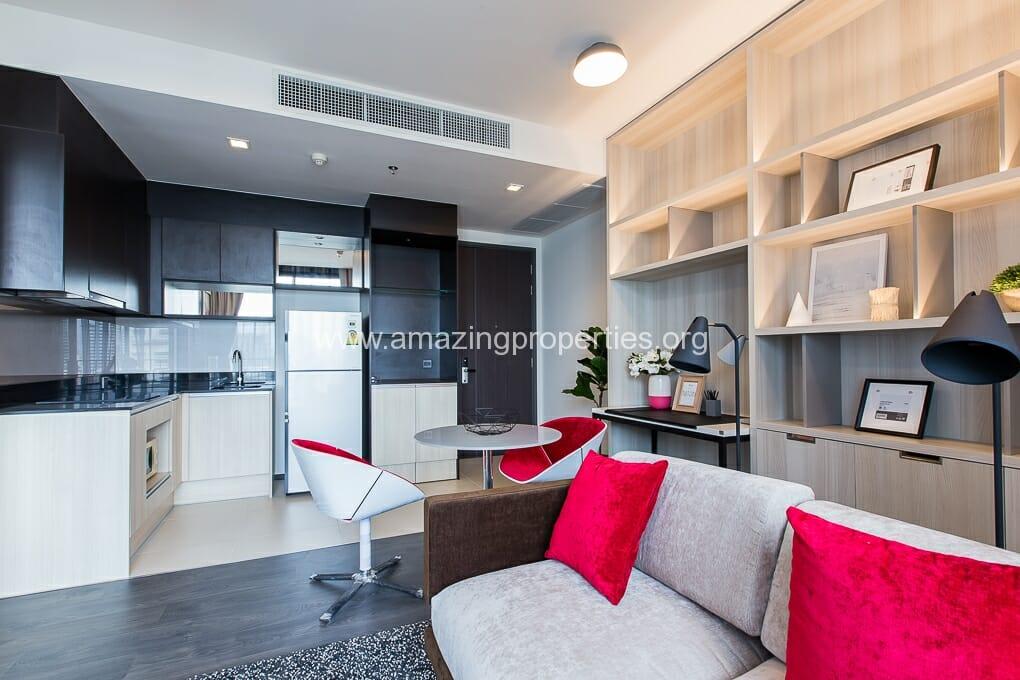 Edge Sukhumvit 23 Asoke 1 bedroom condo for rent (5)