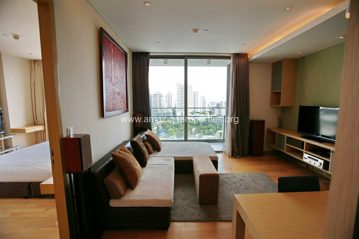 1 Bedroom Condo for Rent at Aequa Condominium