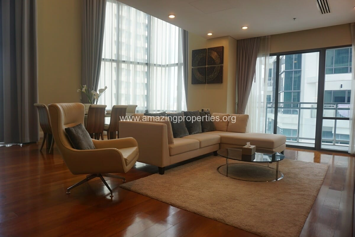 3 bedroom duplex condo for rent at bright sukhumvit 24 for Duplex bed