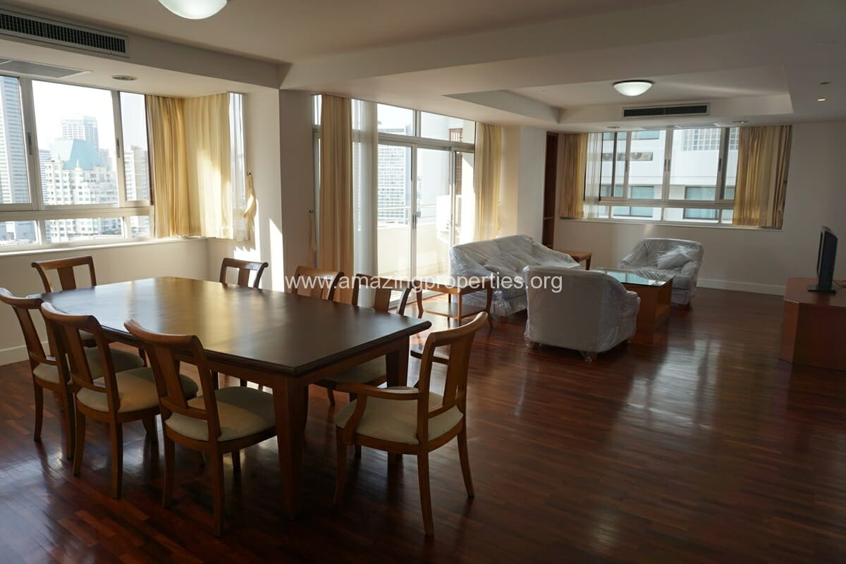 Krungthep Thani Tower 3 Bedroom Apartment -7