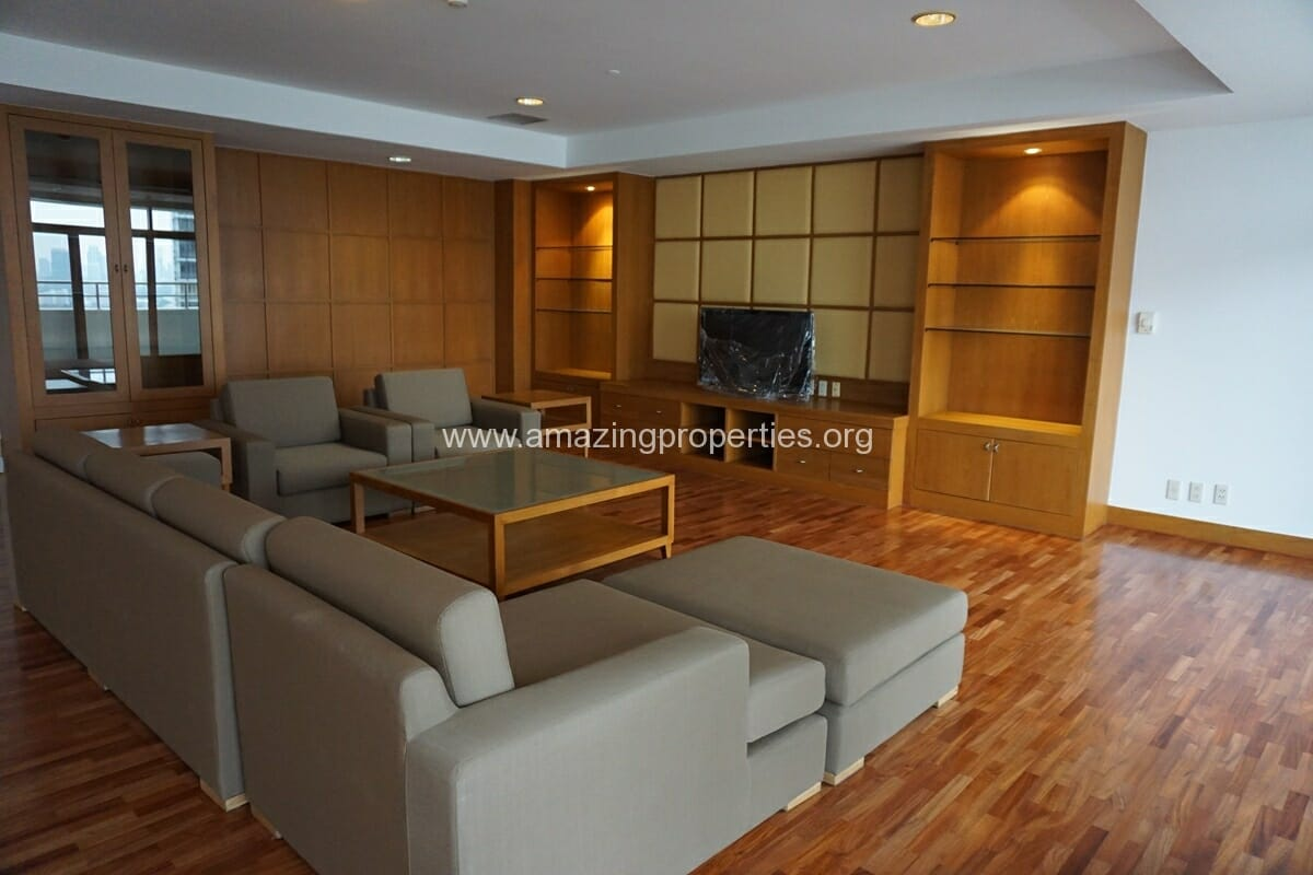 3 Bedroom Penthouse Krungthep Thani Tower-17