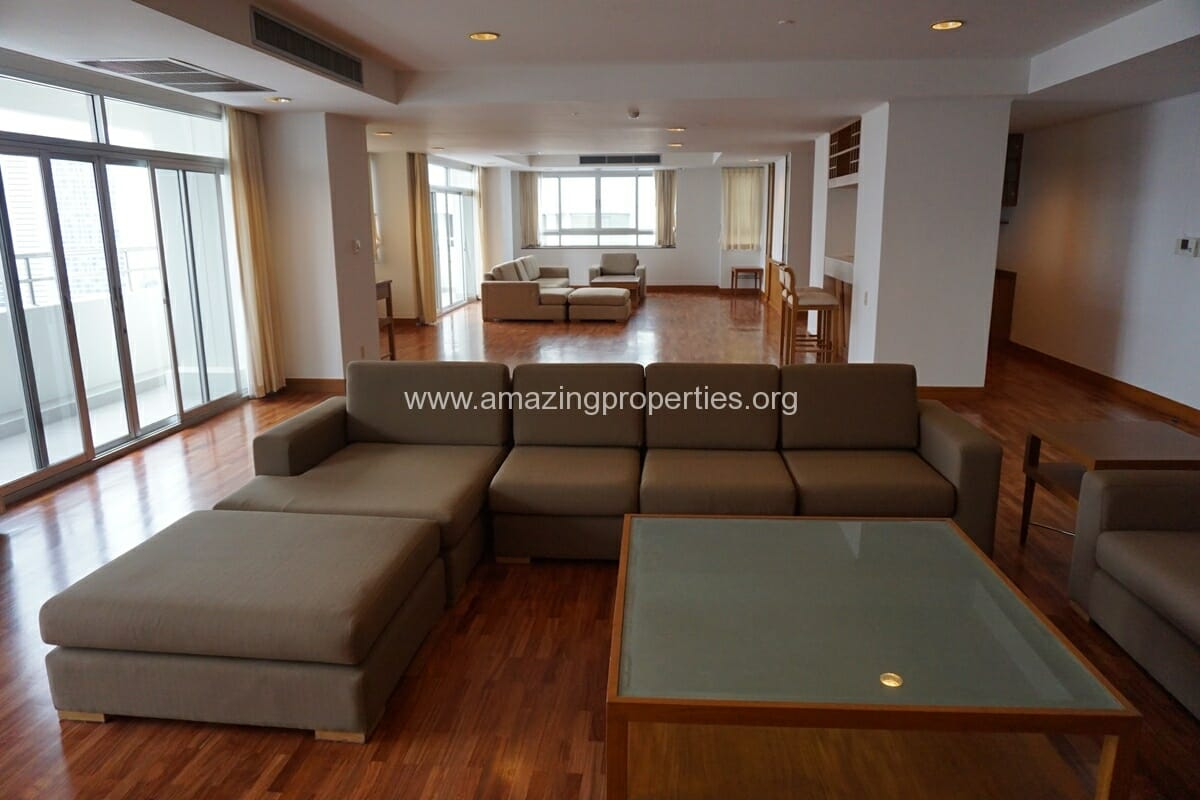 3 Bedroom Penthouse Krungthep Thani Tower