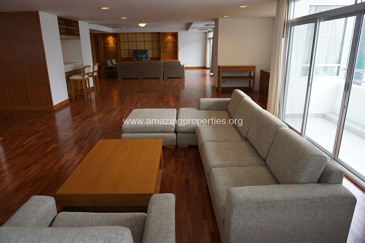 3 Bedroom Penthouse Krungthep Thani Tower-25