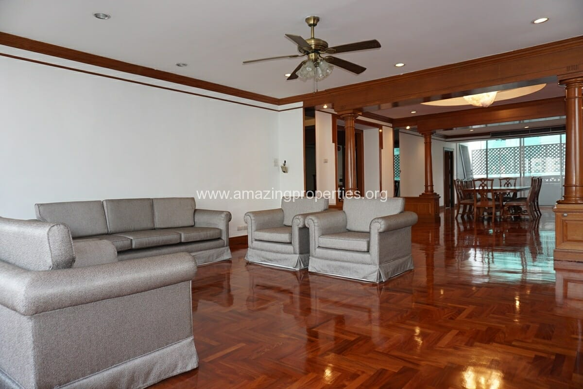 3 Bedroom Apartment for Rent at Raj Mansion