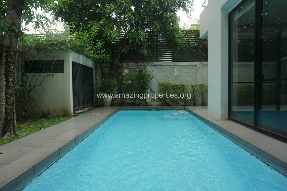 Thonglor 4 Bedroom House with Pool for Rent