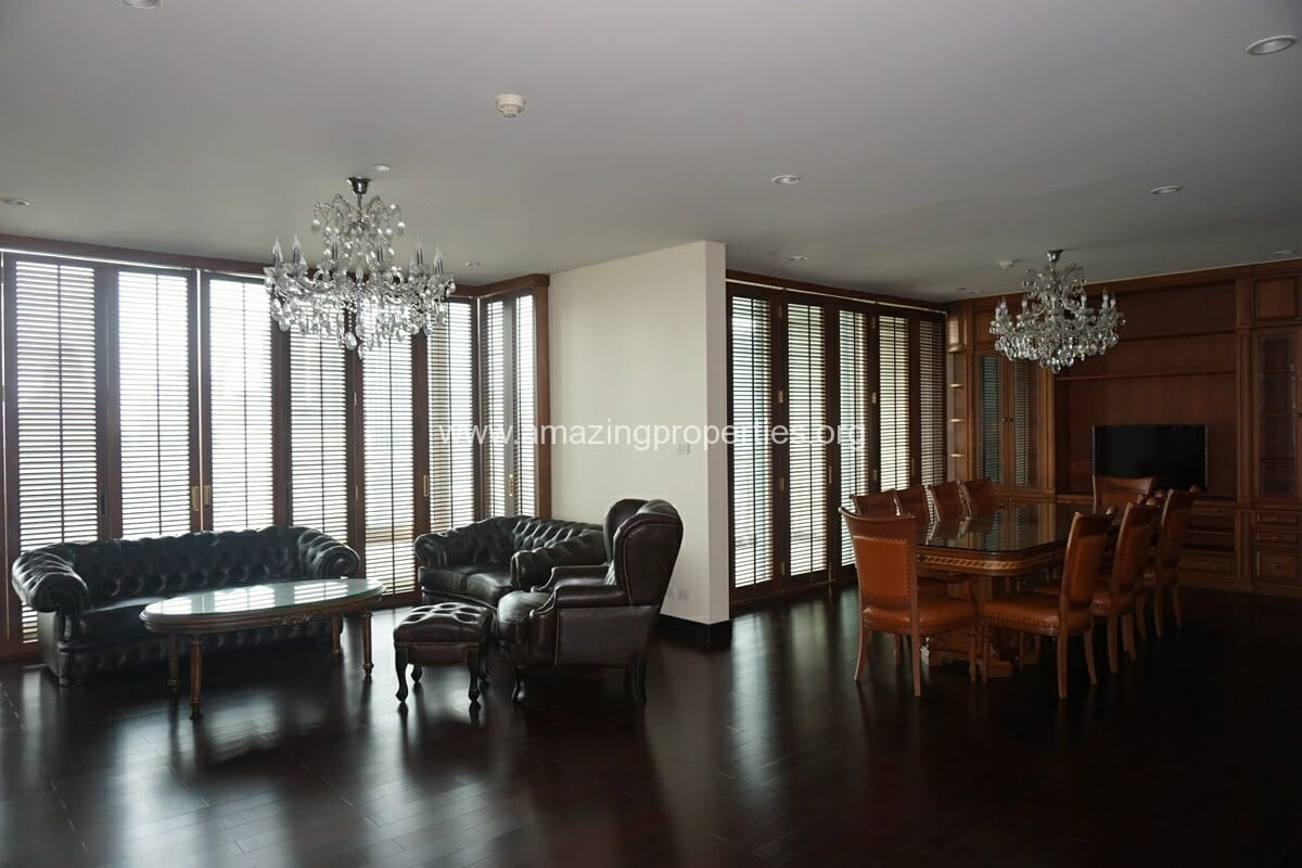 The Park Chidlom 4 Bedroom Condo for Rent