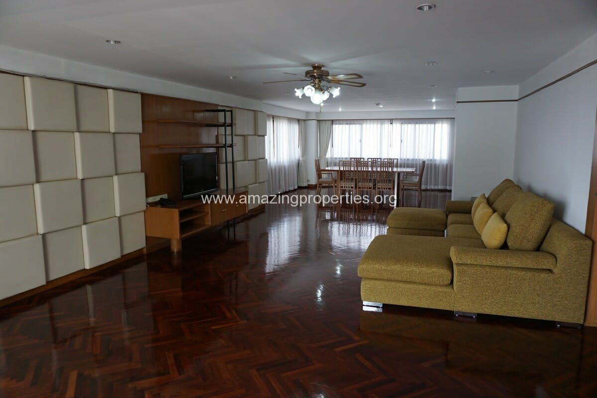 3 Bedroom Apartment for Rent Four Wings Mansion
