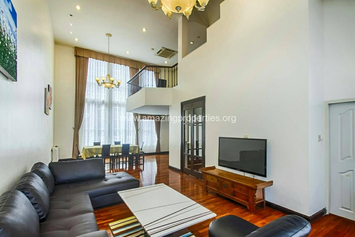 Baan Klang Krung Thonglor 3 bedroom house for rent-1