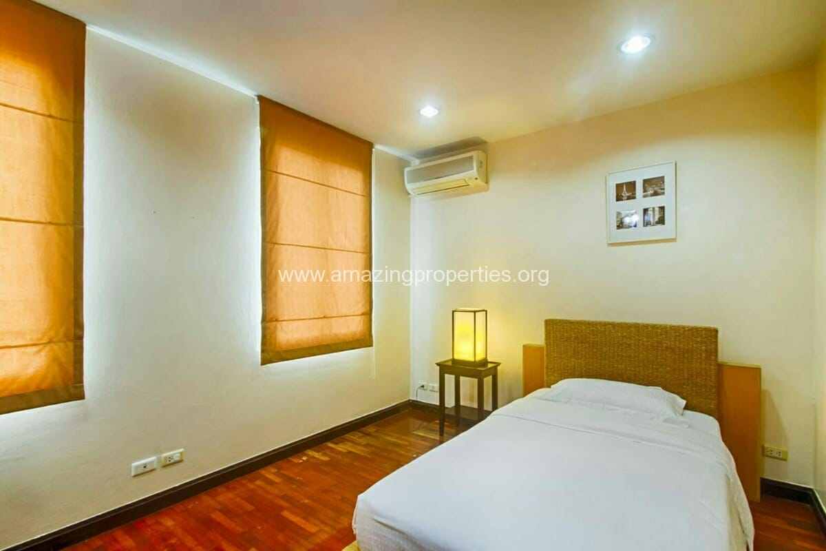 Baan Klang Krung Thonglor 3 bedroom house for rent-10