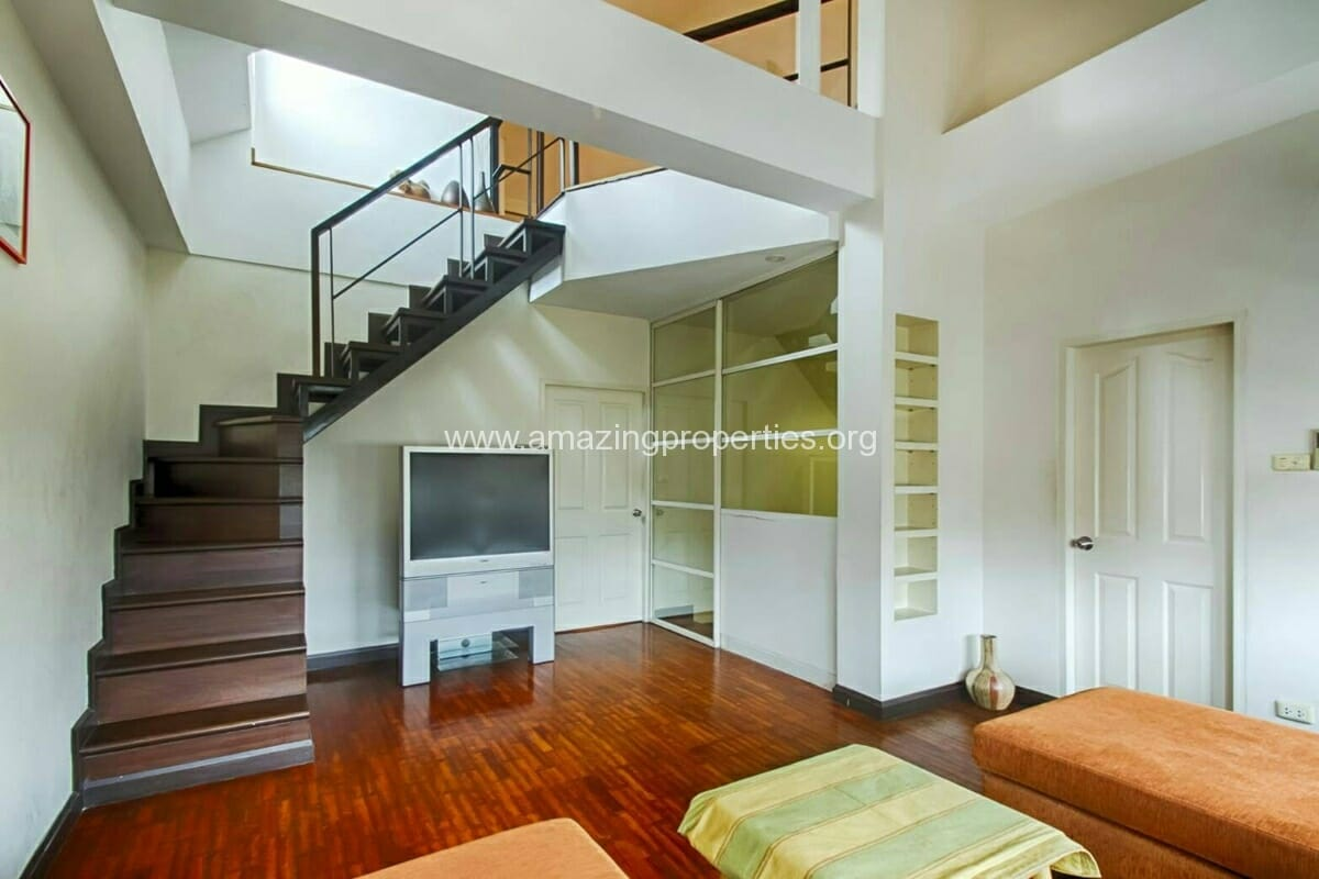 Baan Klang Krung Thonglor 3 bedroom house for rent-11