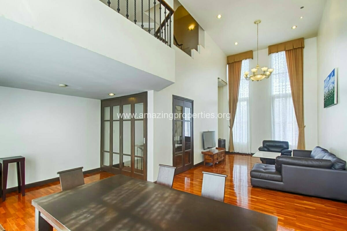 Baan Klang Krung Thonglor 3 bedroom house for rent-2