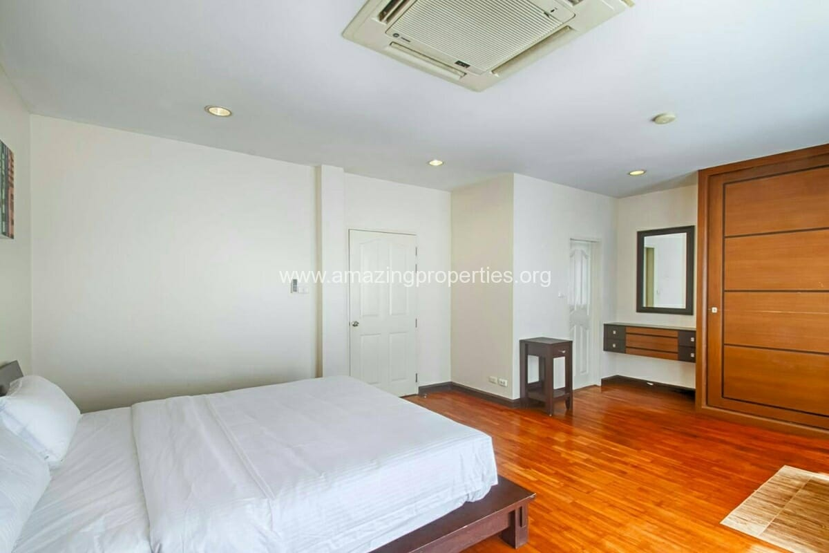 Baan Klang Krung Thonglor 3 bedroom house for rent-6