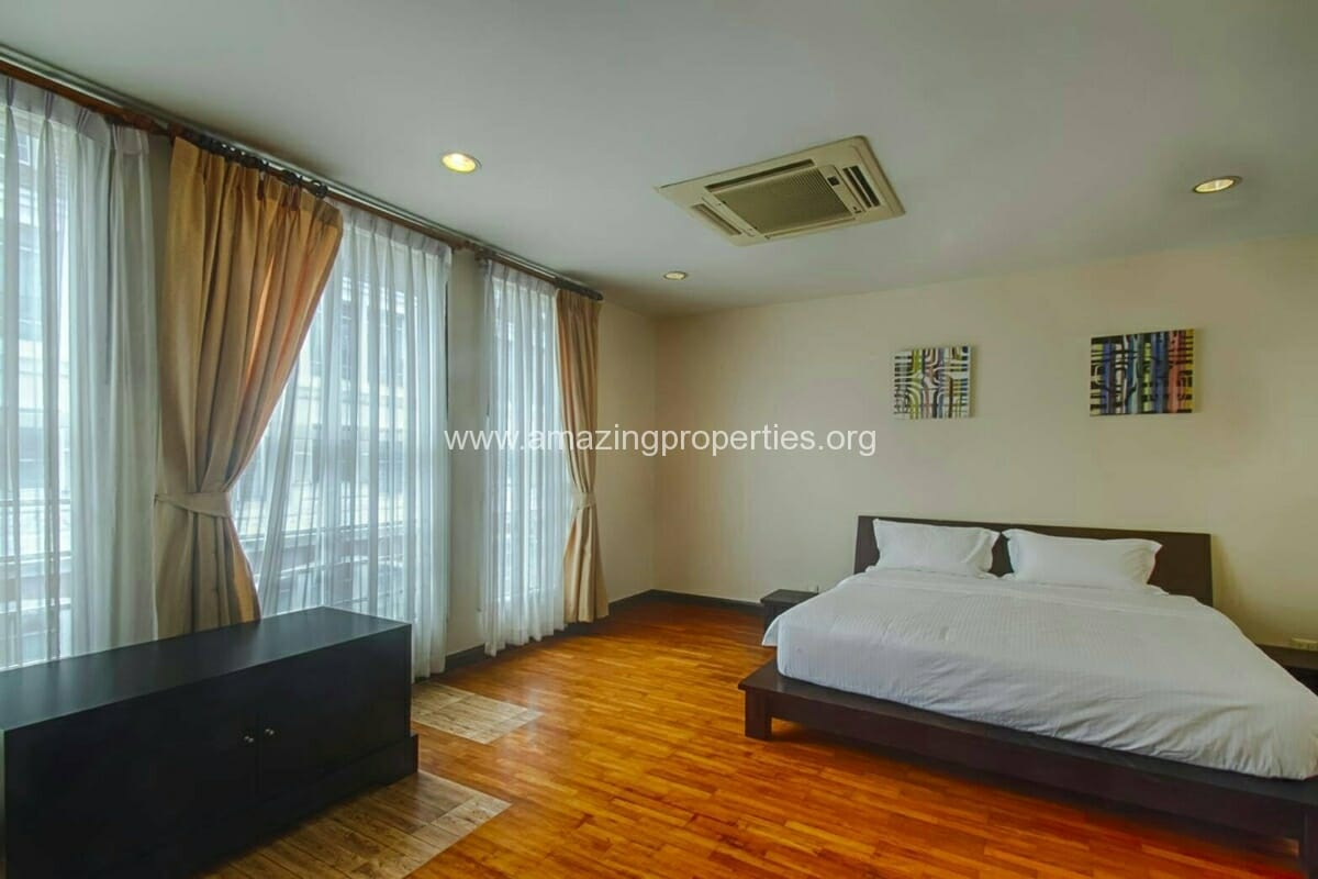 Baan Klang Krung Thonglor 3 bedroom house for rent-7