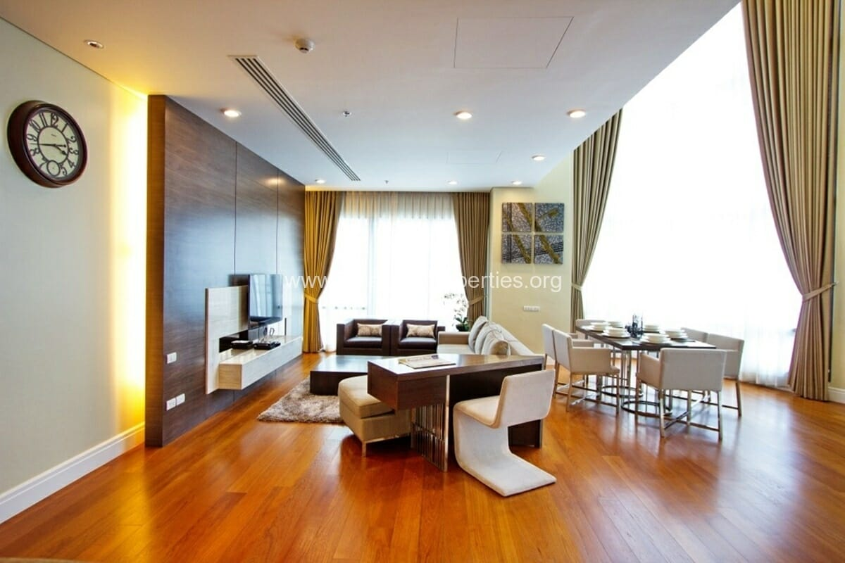 The Bright Phrom Phong 3 Bedroom Duplex-2