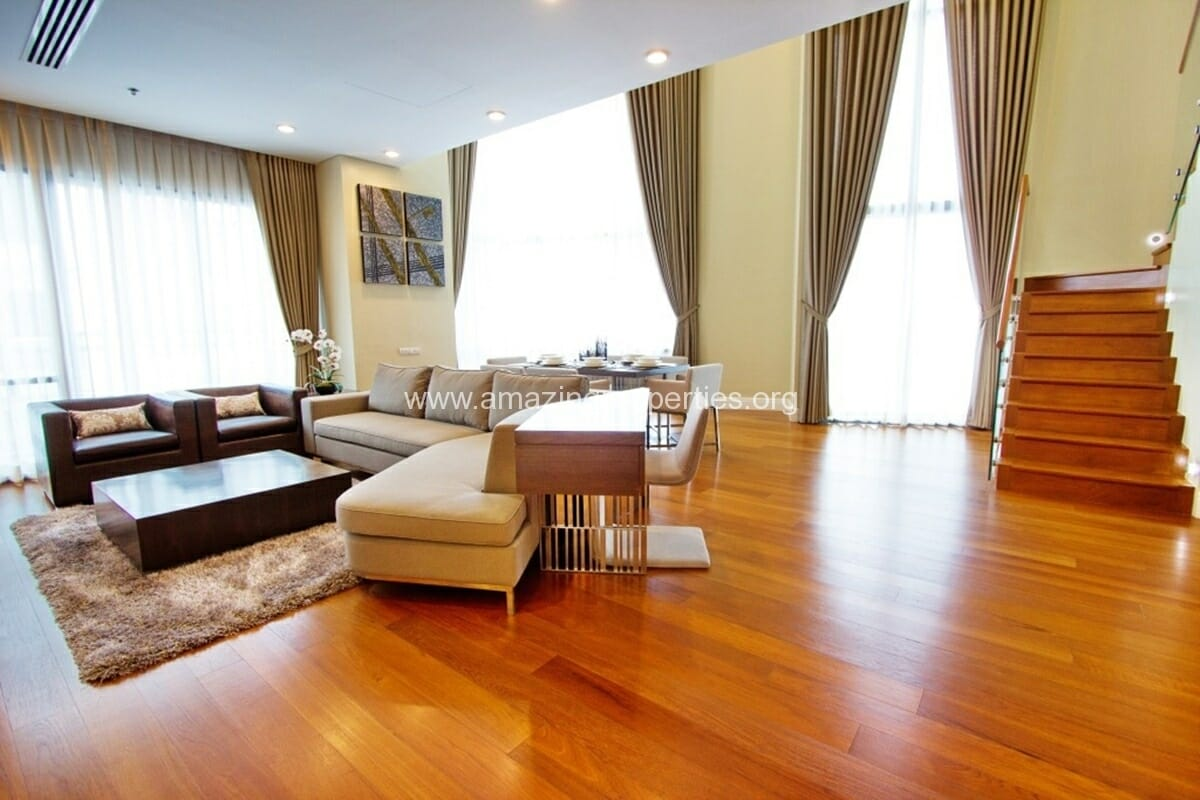 The Bright Phrom Phong 3 Bedroom Duplex