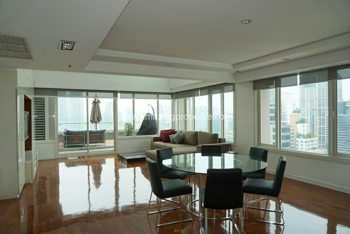4 Bedroom Duplex Penthouse Phrom Phong-4