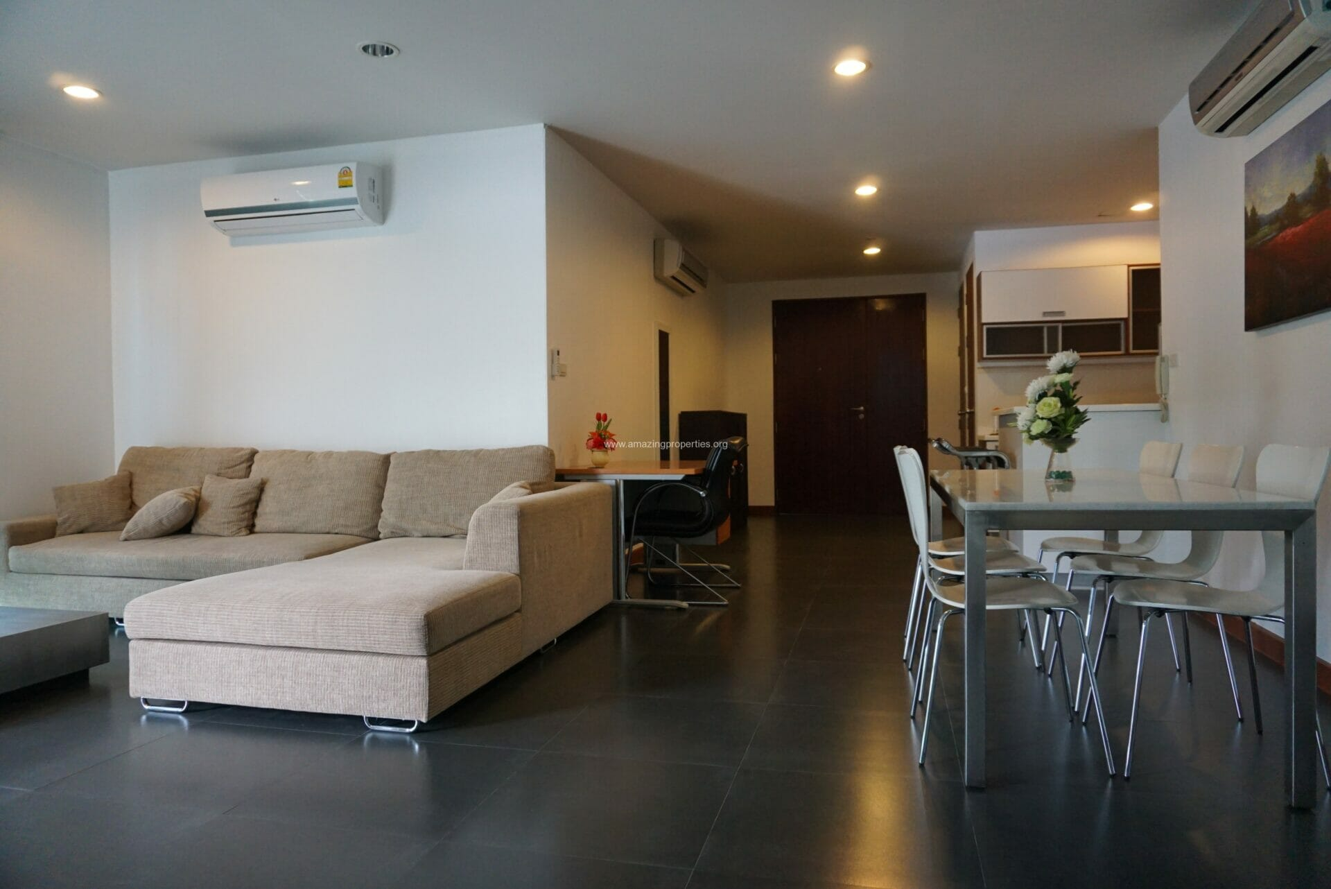 Baan Saraan 2 Bedroom condo for Rent-13