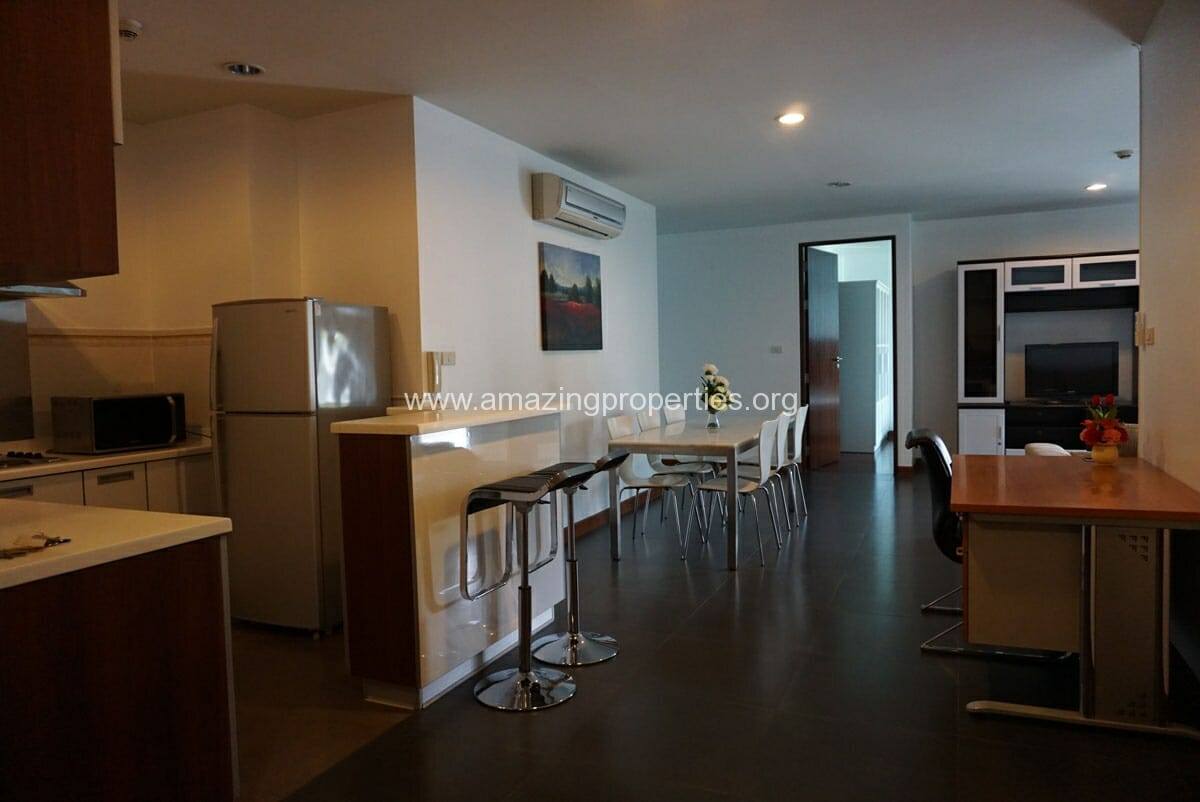 Baan Saraan 2 Bedroom condo for Rent-5