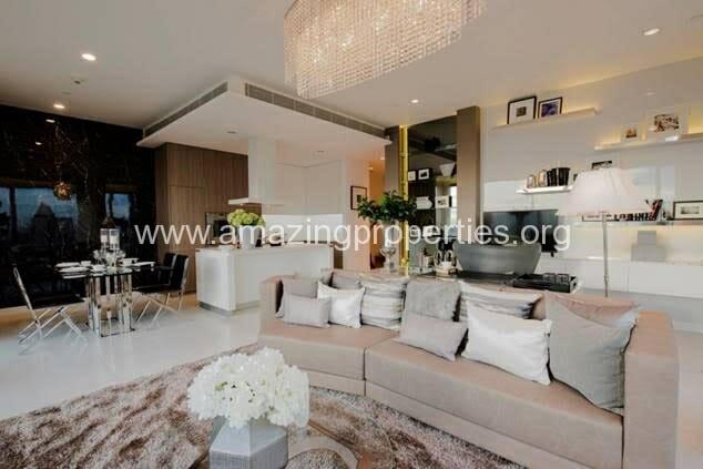 Duplex 2 bedroom condo 185 Rajdamri (10)