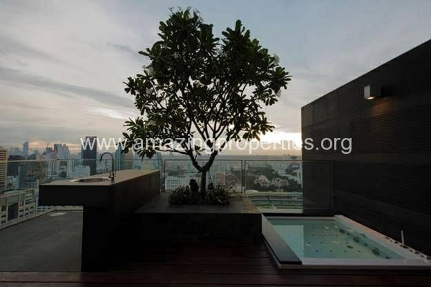 Duplex 2 bedroom condo 185 Rajdamri (20)