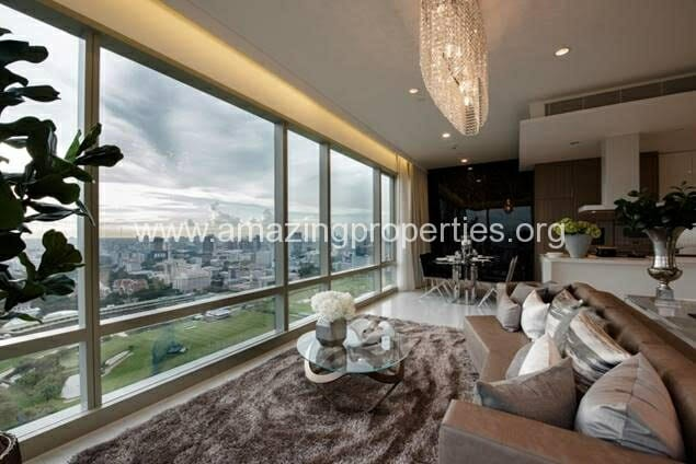 Duplex 2 bedroom Penthouse for rent at 185 Rajadamri