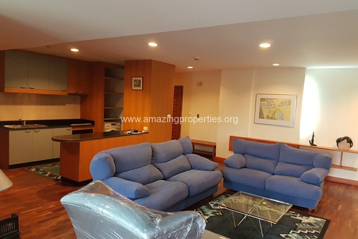 Baan Somthavil 2 Bedroom condo for Rent (2)