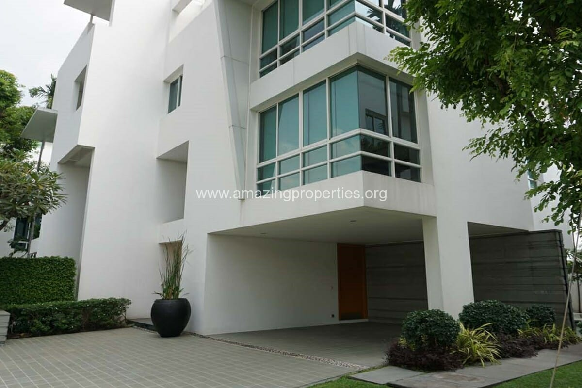 4 bedroom House for Rent The Trees Sathorn (1)