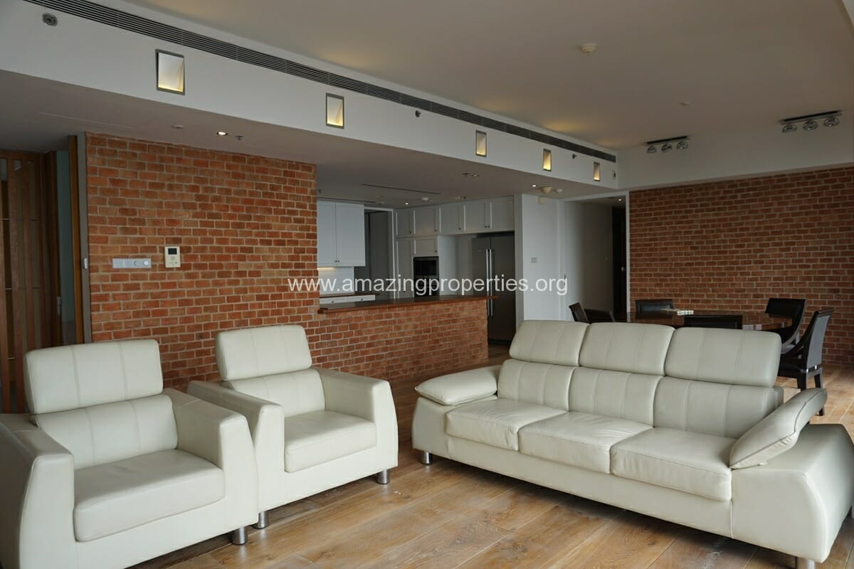 The Met Sathorn 3 Bedroom Condo for Rent (2)
