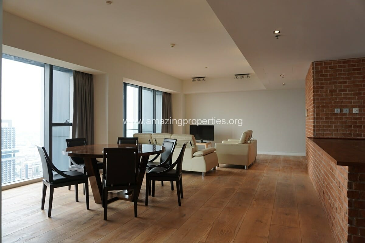 The Met Sathorn 3 Bedroom Condo for Rent