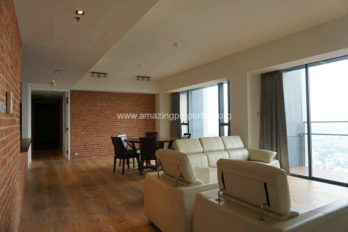 The Met Sathorn 3 Bedroom Condo for Rent (6)