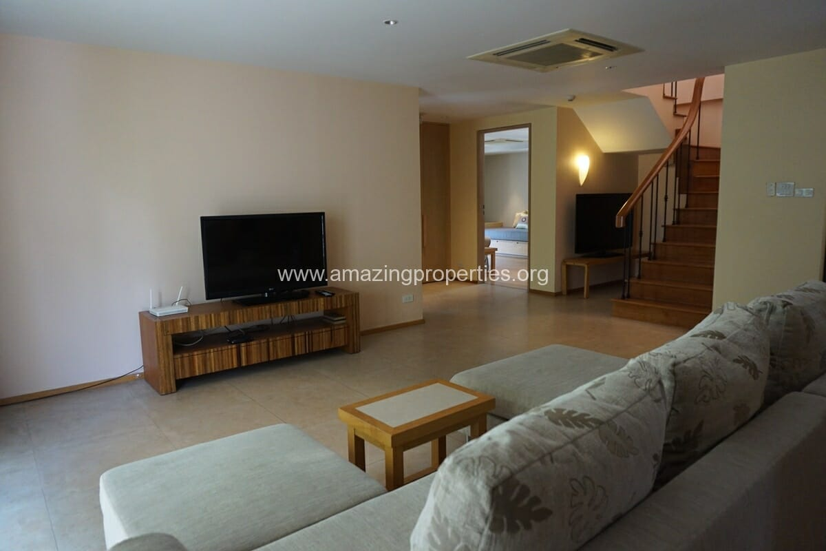 Duplex 3 bedroom Apartment for Rent Casa Langsuan