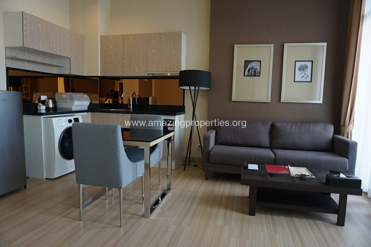 Superior 1 Bedroom condo for rent at Movenpick Residences Ekkamai